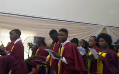 Rector charges students as Eko College holds second matriculation