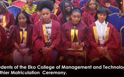 Eko college established to produce job creators – Rector