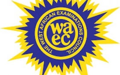 WASSCE  not cancelled, only postponed  -WAEC
