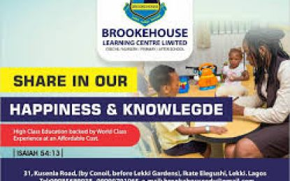 Interview with Principal Consultant, Brooke House Educational Consult,  Dr. Ifueko Omowunmi Thomas