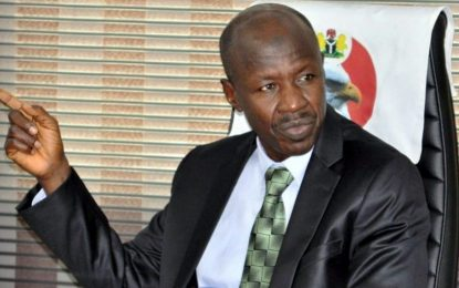 EFCC denies Magu's arrest, but confirms appearance before Presidential probe panel