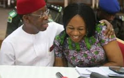 BREAKING:  Delta governor, Okowa, wife, test positive to COVID-19