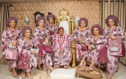 Alaafin on young wives: They all married me after I sponsored their education