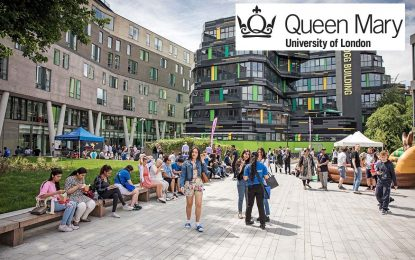 Full Master's Scholarship at Queen Mary University of London: Read Details