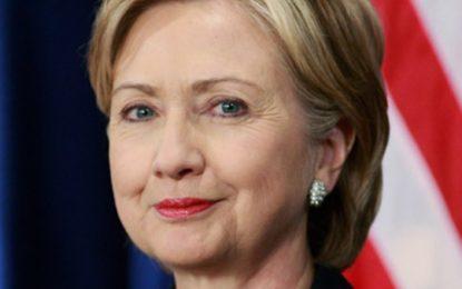 Hillary Clinton Tweets At Buhari, says 'stop killing #ENDSARS protesters'