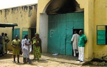 Updated:  #ENDSARS:  Nothing like attempted  jailbreak at Ikoyi prisons-NCoS