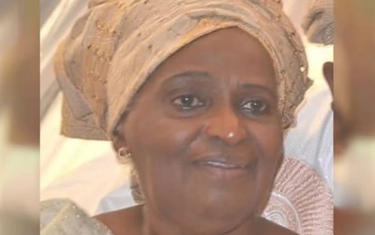 UI mourns death of ex-VC's wife, Tola Oyediran