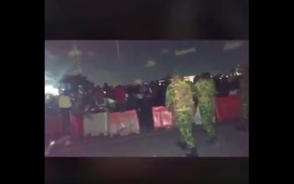VIDEO: Footage of soldiers shooting at  #ENDSARS protesters in Lagos emerges