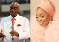 Oyedepo Storms Tope Alabi's home on 50th Birthday (Video)